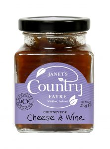 Chutney Cheese and Wine - Janets Country Fayre
