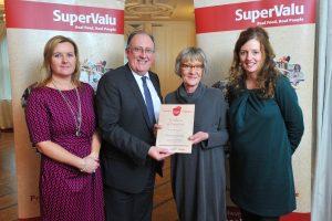Janet receiving her Food Academy Advance Certificate December 2015