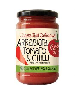 JJD Arrabiata Tomato & Chili Pasta Sauce