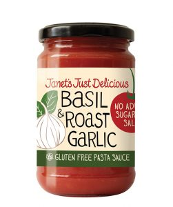 Basil and Roast Garlic Pasta Sauce