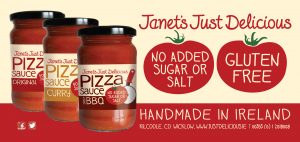 Janets Country Fayre Just Delicious Pizza Sauces