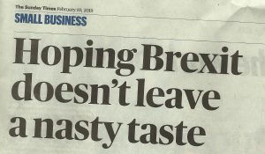 Janet Sunday Times Article Brexit