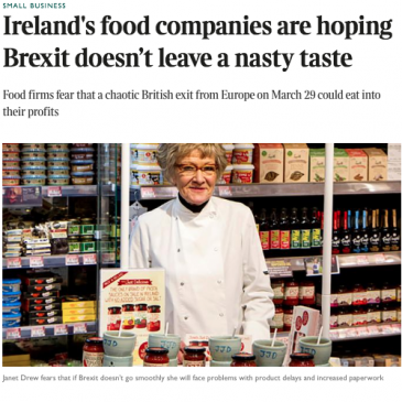 Janet featured in Sunday Times article on Brexit