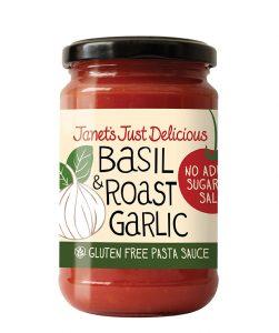 Basil and Roast Garlic Pasta Sauce